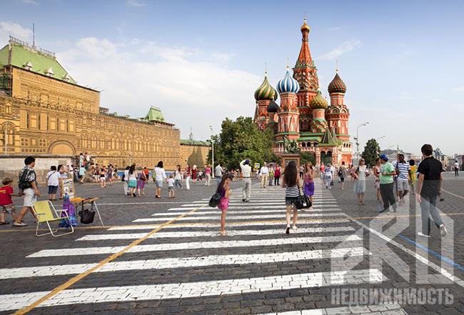 Красная площадь будет закрыта для посещения 4 – 9 мая