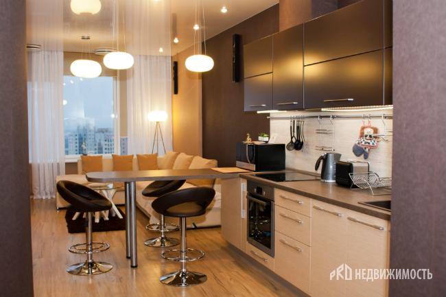 Дизайн кухни 18 м фото