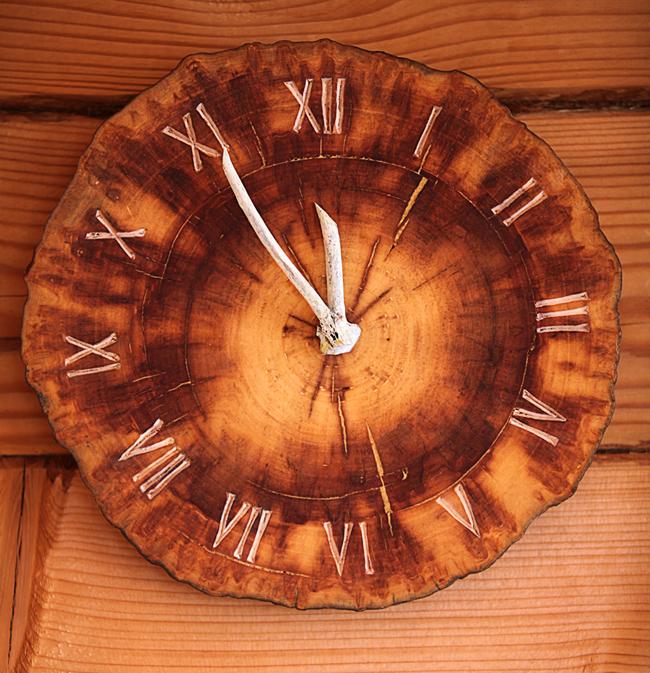 Часы из дерева сделать 22
