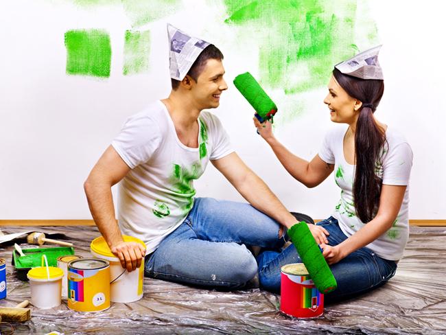 Сочетание цветов стен и пола в интерьере