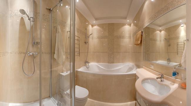 Очень важно, чтобы в ванной комнате было достаточно свободного пространства