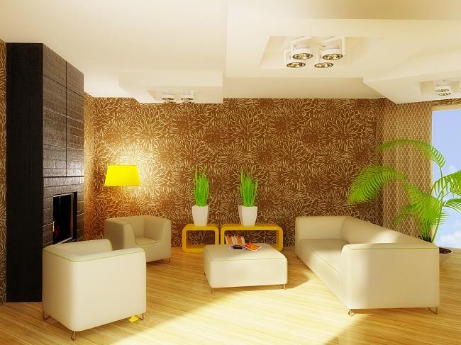 Конструкции многоуровневого потолка могут быть различных форм и размеров