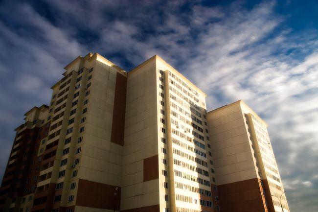 В основе технологии строительства панельных домов лежит способ сборного строительства