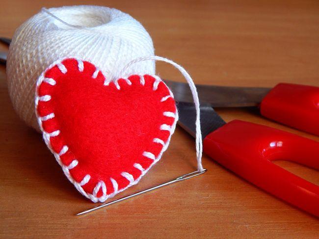 Сердечки своими руками на день святого валентина