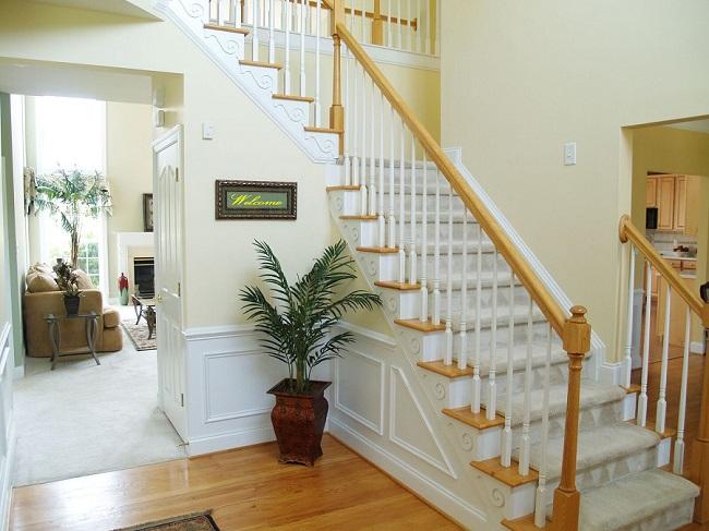 Перила для лестниц (55 фото): современные варианты дизайна